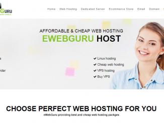 ewebguru web hosting